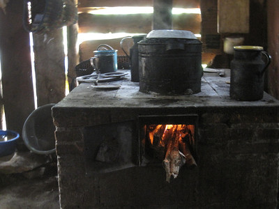 Working Stove in Guatemala