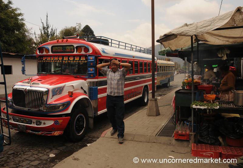 Chicken Bus - Antigua, Guatemala