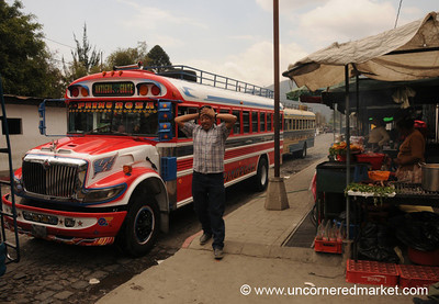 Chicken Bus - Antigua, Guatemala