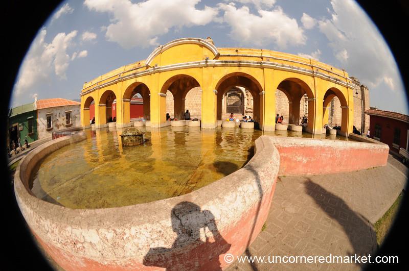 Parque Union Laundry Area - Antigua, Guatemala