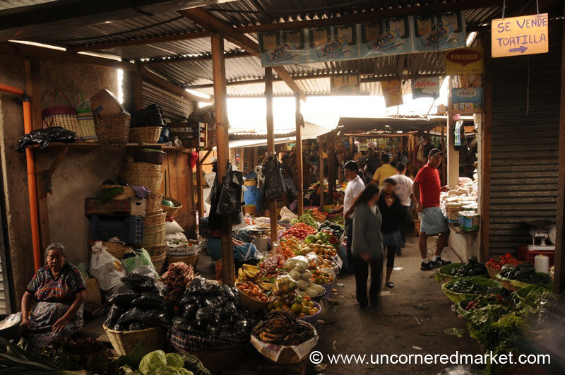 Central Food Market - Antigua, Guatemala