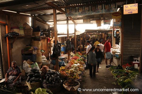 Central Food Market - Antigua, Guatemala