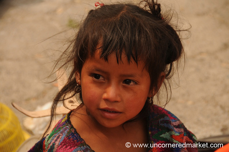 Indigenous Girl - Antigua, Guatemala
