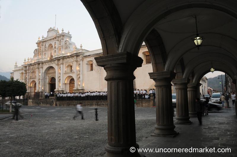 San Jose Cathedral and Arches - Antigua, Guatemala