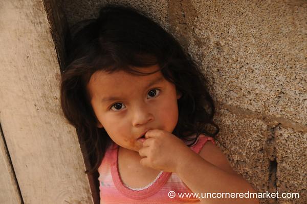 Young Guatemalan Girl - Antigua, Guatemala