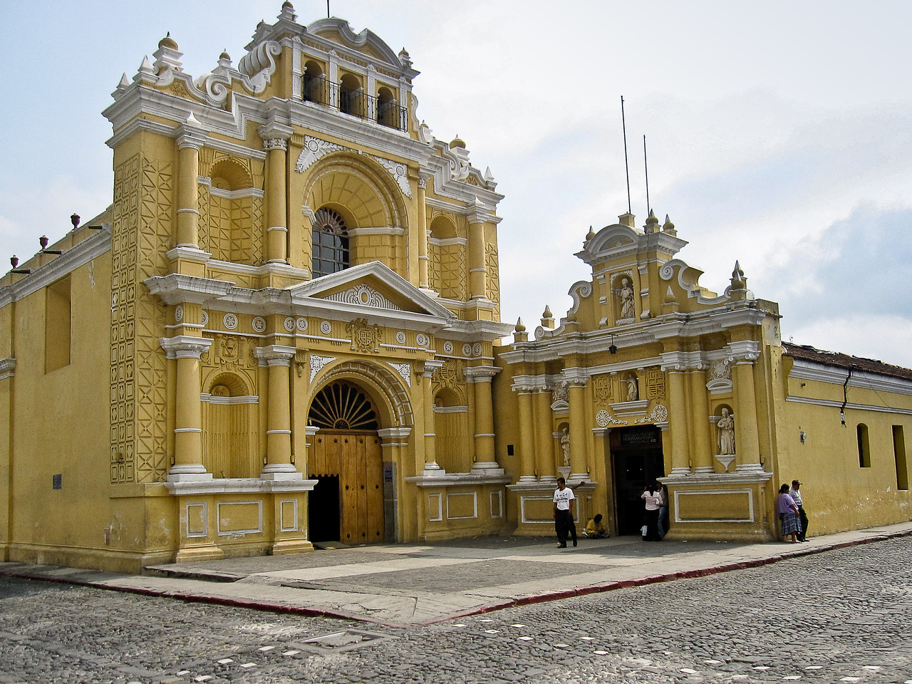 One of the main churches in Antigua