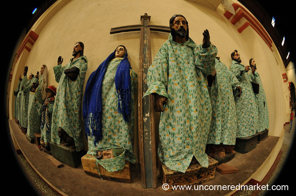 Religious Statues - Santiago La Laguna, Guatemala