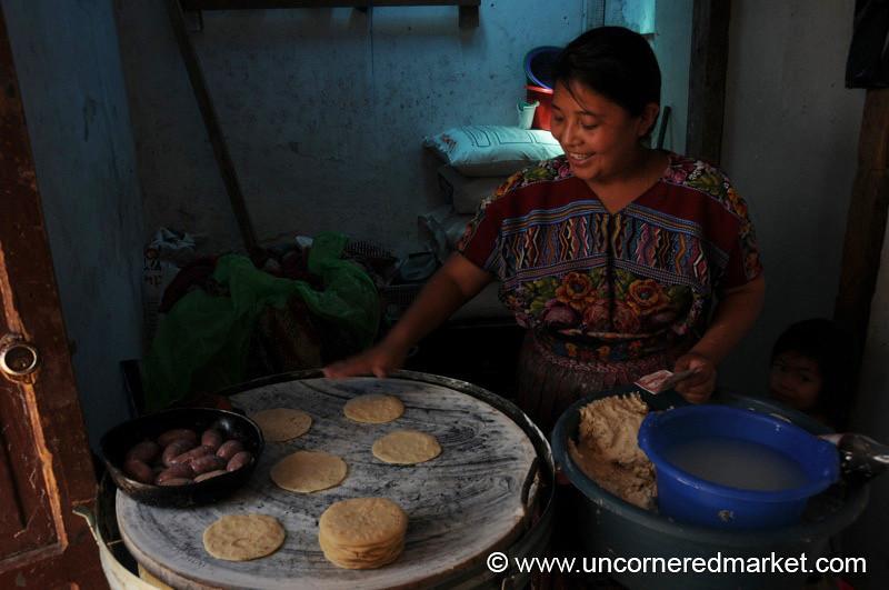 Tortilla Shop - Antigua, Guatemala