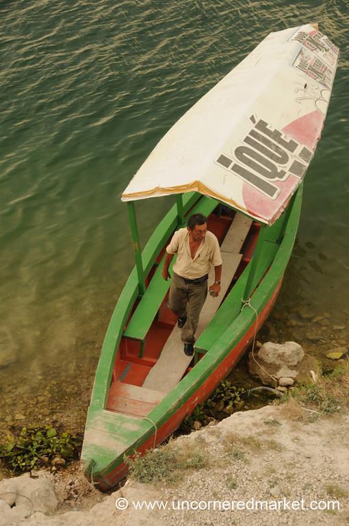 Flores Boat - Guatemala