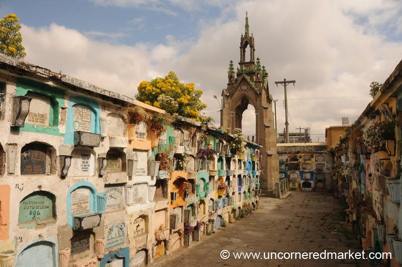 Public Cemetery in Xela, Guatemala
