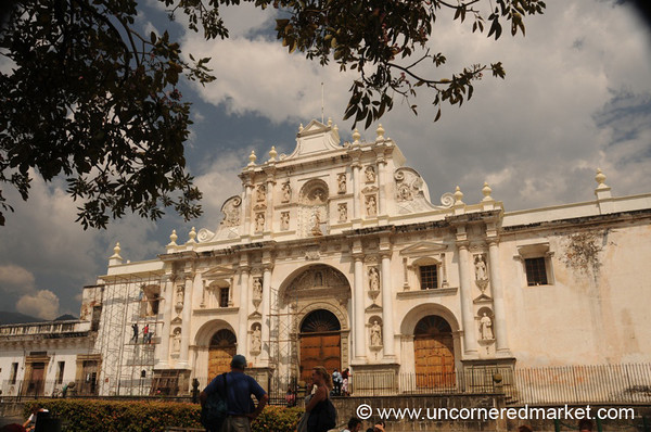 Cathedral de San Jose, Central Park - Antigua, Guatemala