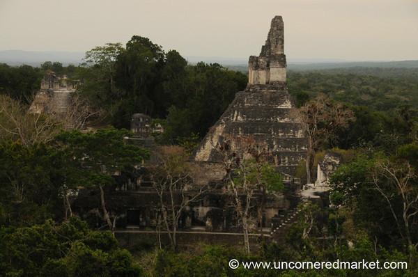 Jaguar Temple, Tikal - Guatemala