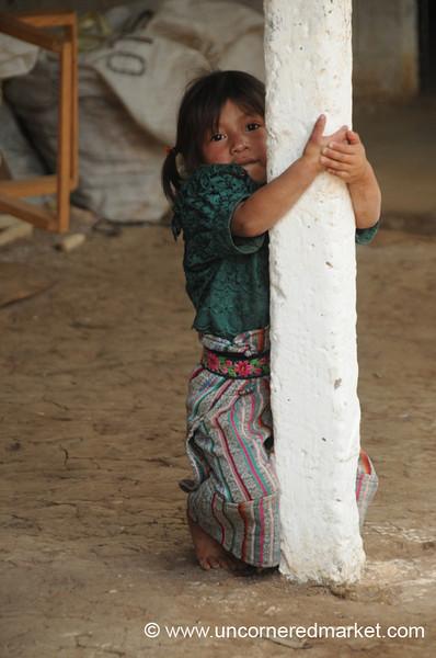 Little Guatemalan Girl - Guatemala City, Guatemala