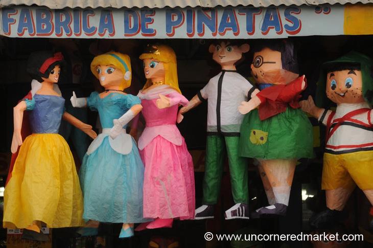 Pinatas - Guatemala City, Guatemala