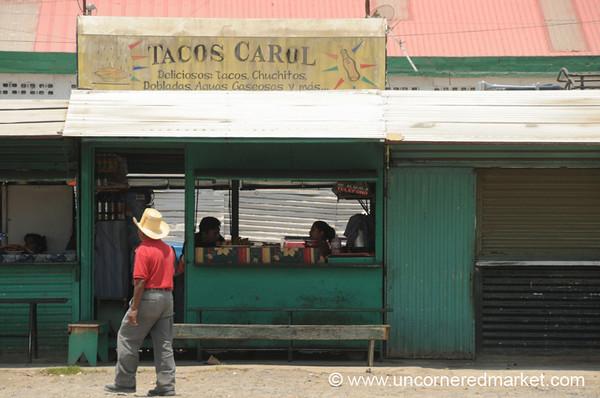 Taco Stand - San Martin Jilotepeque, Guatemala