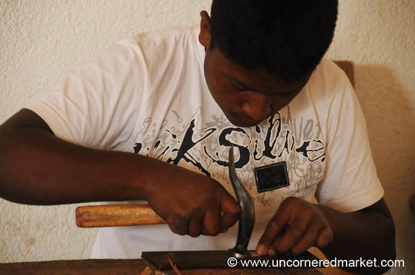 Shoe-Maker - Chesuc, Guatemala