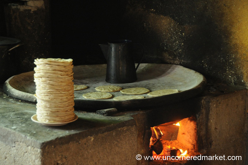 Kiva Borrower Business, Making Tortillas - San Martin Jilotepeque, Guatemala