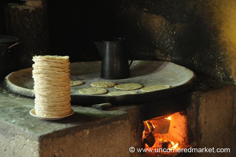 Kiva Borrower Business, Making Tortillas - San Martin Jilotepeque, Guatemala