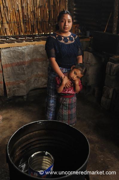 Kiva Borrower, Mother and Daughter - San Pedro Sacatepequez, Guatemala