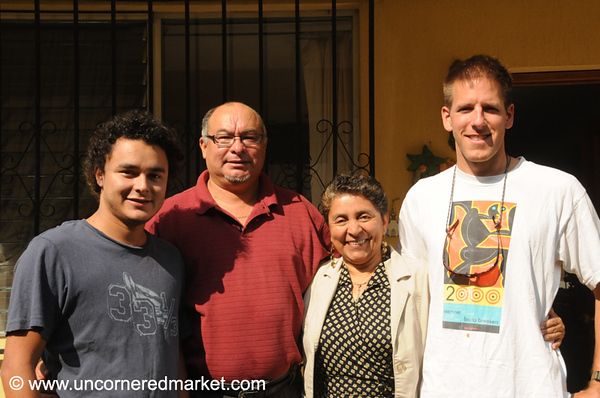 Staying with Family in Guatemala City, Guatemala