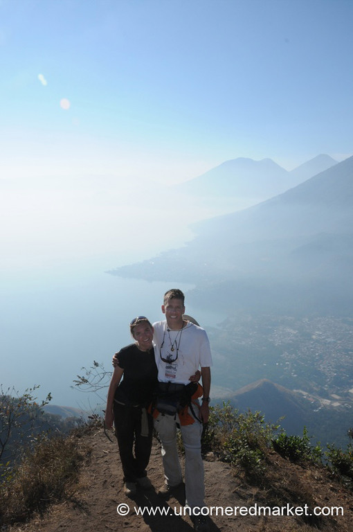 Finishing the Trek to Lake Atitlan, Guatemala