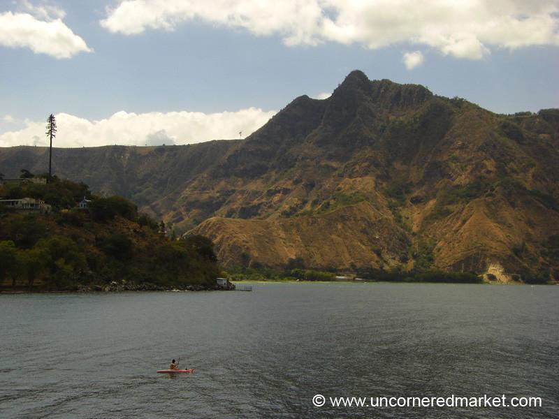 Kayaking Lake Atitlan - Guatemala