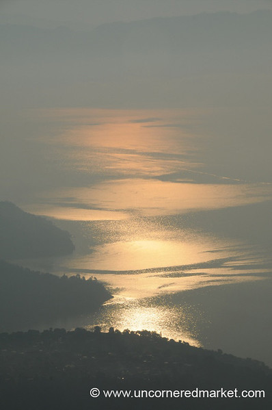 Sun Rise at Lake Atitlan, Guatemala