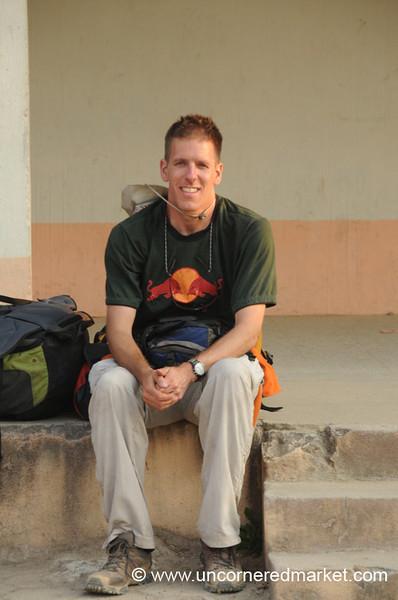 Dan Takes a Rest, Trek to Lake Atitlan, Guatemala