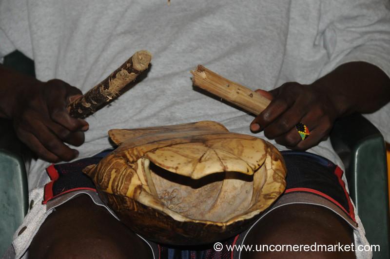 Turtle Shell Musical Instrument - Livingston, Guatemala