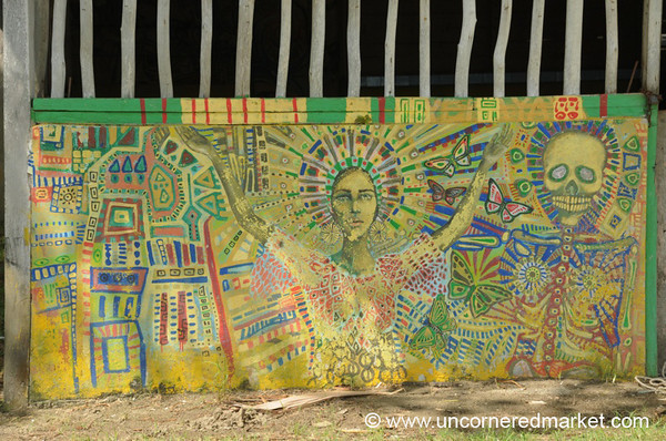 Garifuna Art - Livingston, Guatemala
