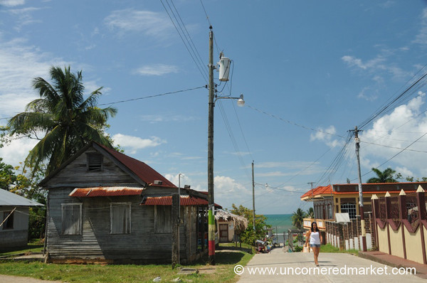 Main Street - Livingston, Guatemala