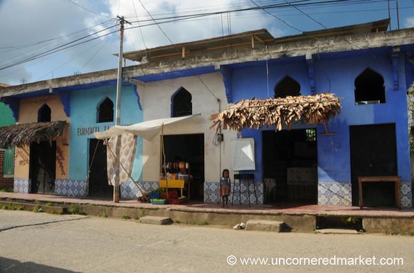 Arabesque Styled Shops - Livingston, Guatemala