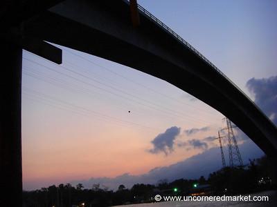 Bridge Over Rio Dulce - Guatemala