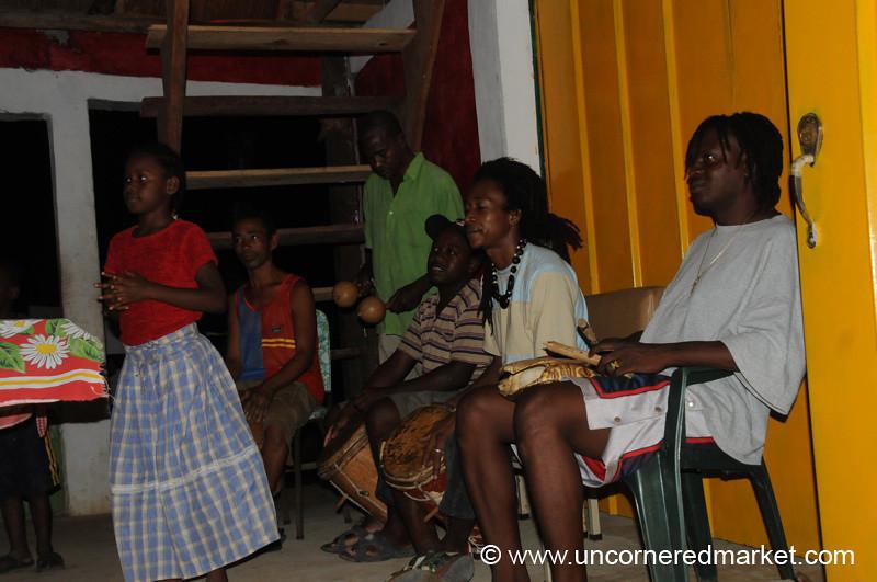 Garifuna Music and Dancing - Livingston, Guatemala