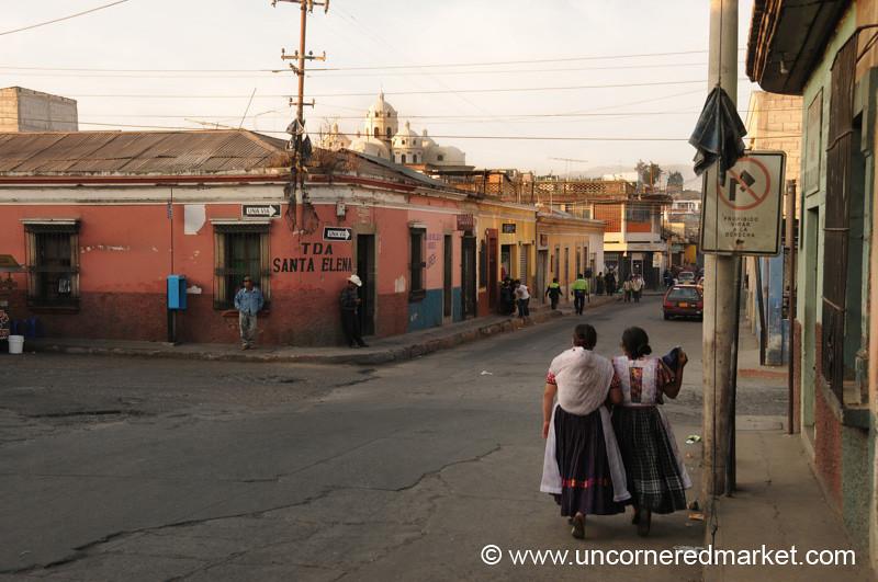 Walking Around Quetzaltenango - Xela, Guatemala
