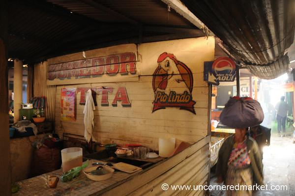 A Break for Lunch - Xela, Guatemala
