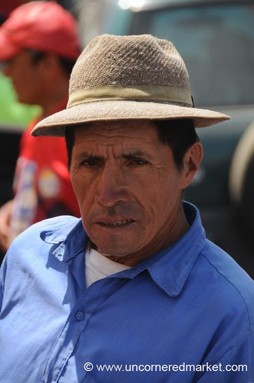 Guatemalan Man - Xela, Guatemala