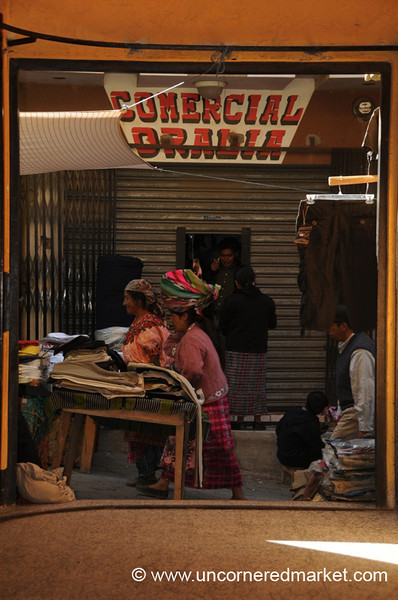 San Francisco El Alto Market, Guatemala