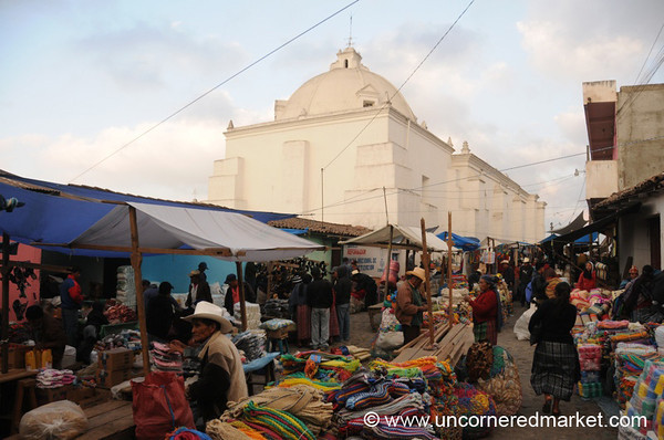 Market Day in San Francisco El Alto, Guatemala