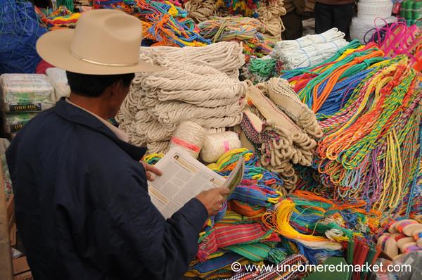 San Francisco El Alto Market, Ropes - Guatemala