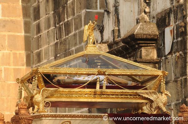 Golden Coffin, Semana Santa - Antigua, Guatemala