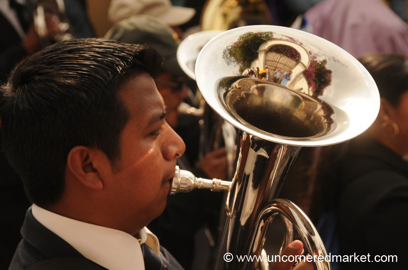 Semana Santa Musician - Antigua, Guatemala