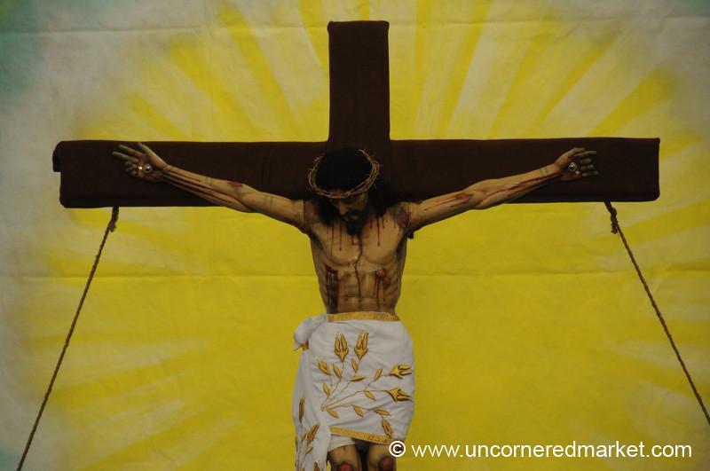 Semana Santa Crucifix - Antigua, Guatemala