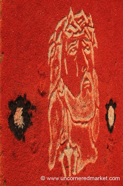 Jesus in Red, Semana Santa - Antigua, Guatemala