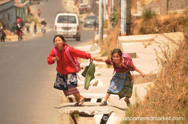Guatemalan School Kids - Totonicapan, Guatemala