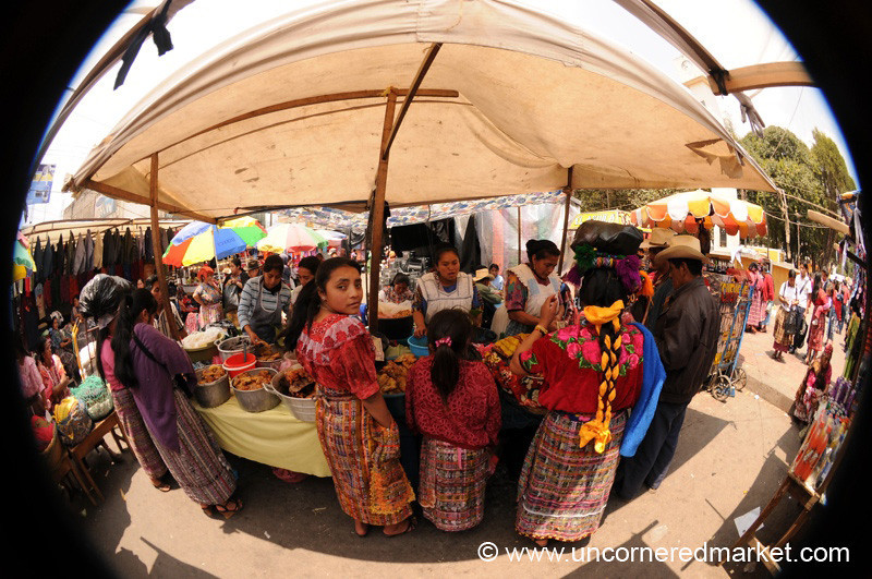 Lunch at the Totonicapan Market - Guatemala