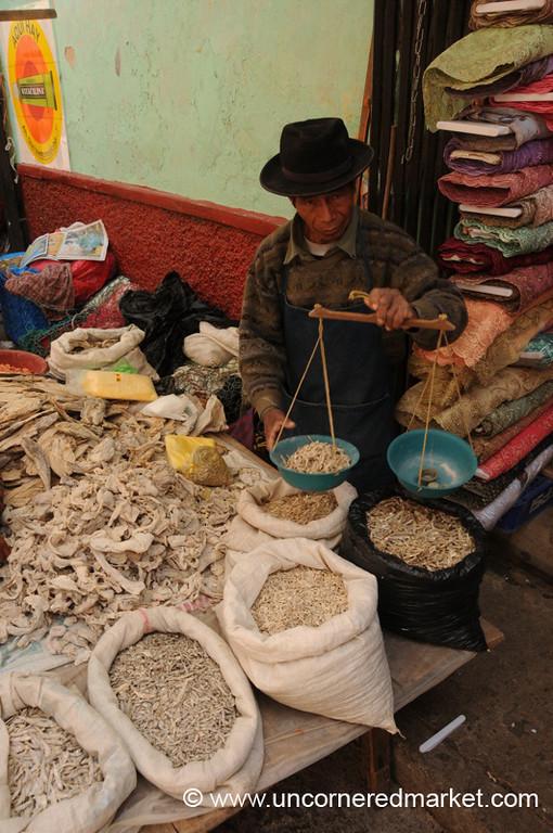 Totonicapan Market, Dried Fish - Guatemala