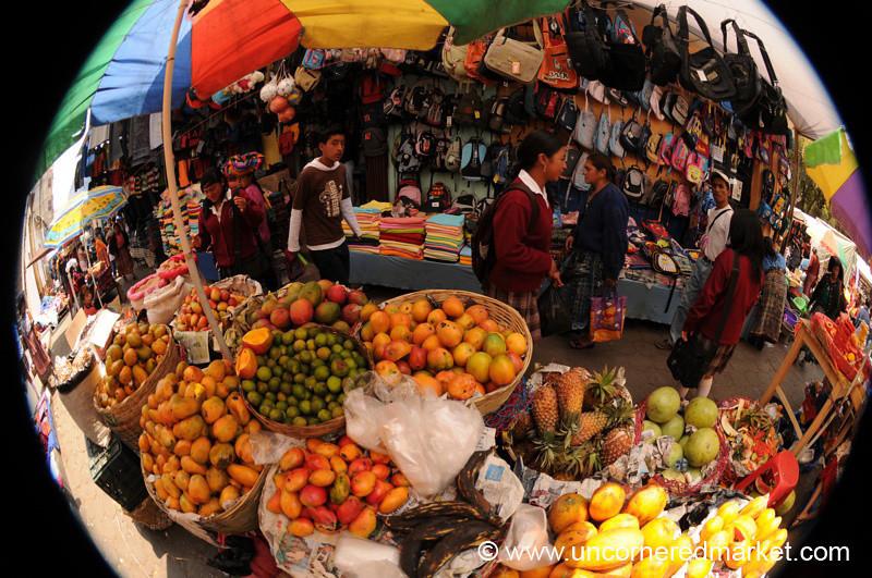 Totonicapan Market, Fruit Stand - Guatemala