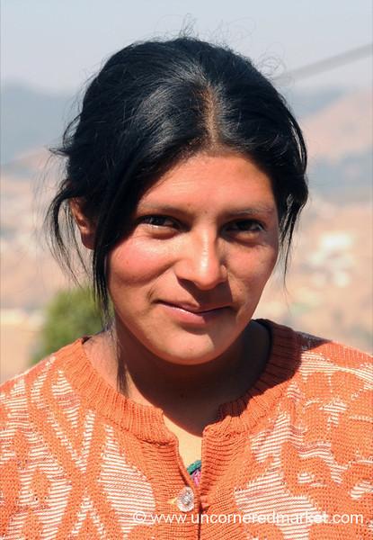 Guatemalan Woman, Smile - Totonicapan, Guatemala
