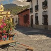 Antigua is a major colonial town in Guatemala, and we really enjoyed it there.